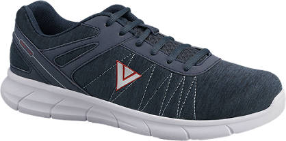 Venice Donkerblauwe  lightweight sneaker memory foam