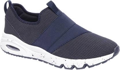 Venice Donkerblauwe sneaker elastieken band
