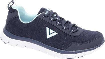 Venice Donkerblauwe sneaker memory foam