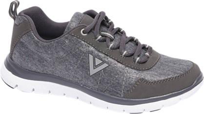 Venice Grijze sneaker glitter