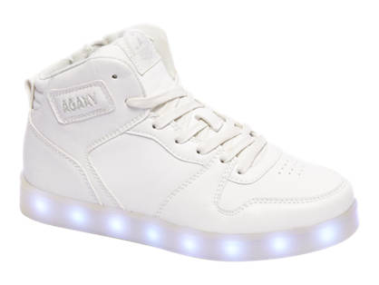 Venice Light Up Sole High Top Trainer