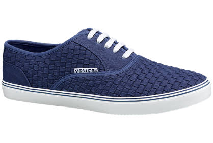 Venice Venice Mens Lace-up Canvas