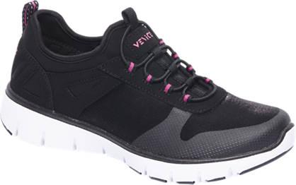 Venice Zwarte sneakers memory foam