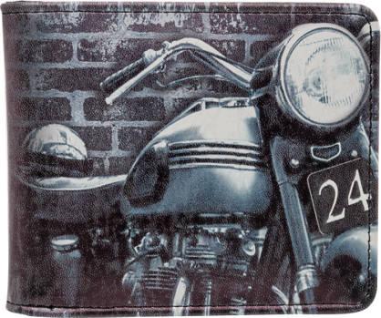 Vintage Effect Motorbike Wallet
