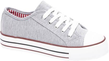 Vty Grijze sneaker platform