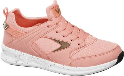 Vty Roze sneaker spikkelzool
