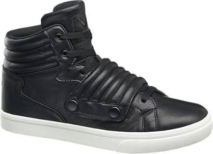 Vty Zwarte sneaker klittenband