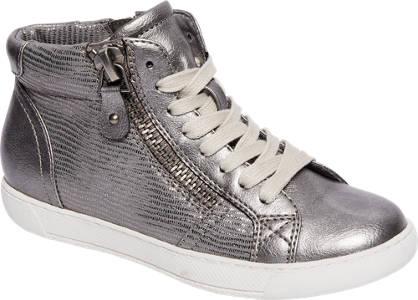 Yorik Sneaker halfhoog in metallic