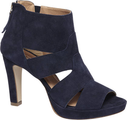 5th Avenue sandały na obcasie