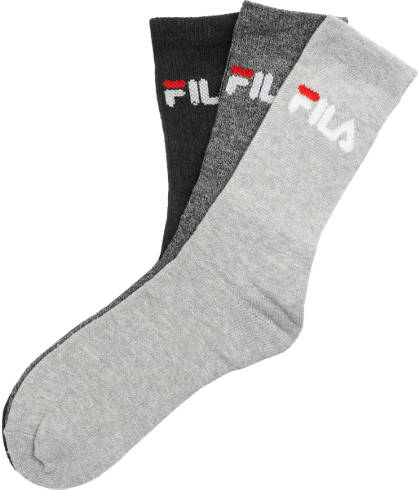 Fila 3er Pack Socken Gr. 35-38/39-42/43-46