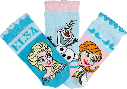 Princess 3er Pack Socken Gr. 23-26/27-30/31-34