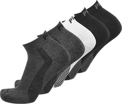 Puma 5er Pack Socken Gr. 35-38/39-42/43-46