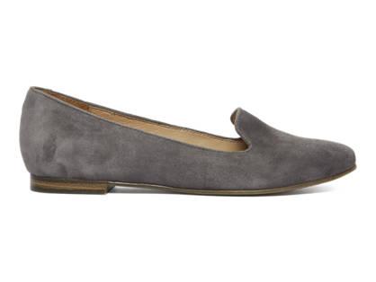 5th Avenue Grijze suede loafer
