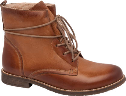5th Avenue Lace Up Leather Boot