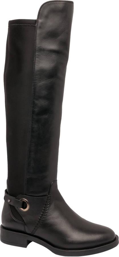 5th Avenue Leather Long Leg Boot