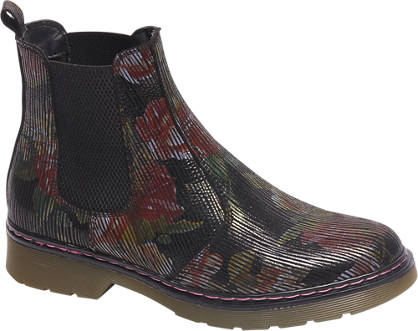 5th Avenue Premium - Zwarte leren chelsea boot