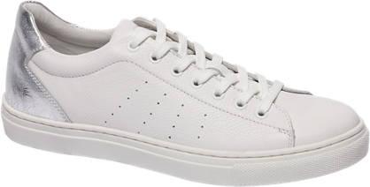 5th Avenue Witte Sneaker metallic