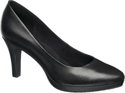 5th Avenue Zwarte leren pump