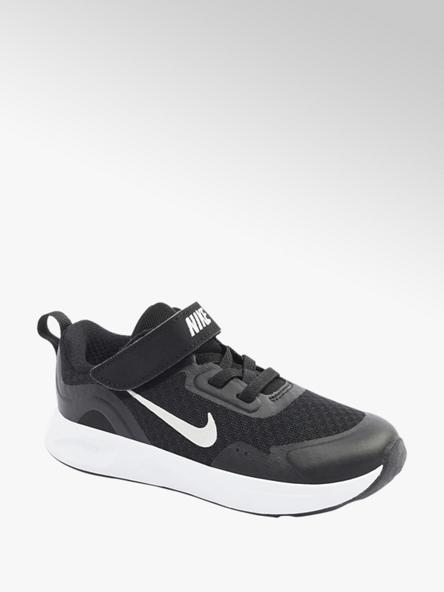 NIKE czarno-białe sneakersy dziecięce Nike WEARALLDAY