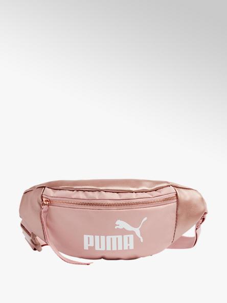 Puma różowa nerka damska Puma z białym logo