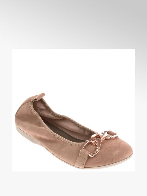 Fortini Leder Ballerinas