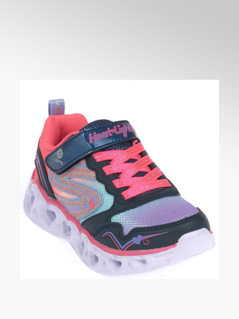 Skechers Klettsneakers mit Licht - Heart Lights Love Sparks