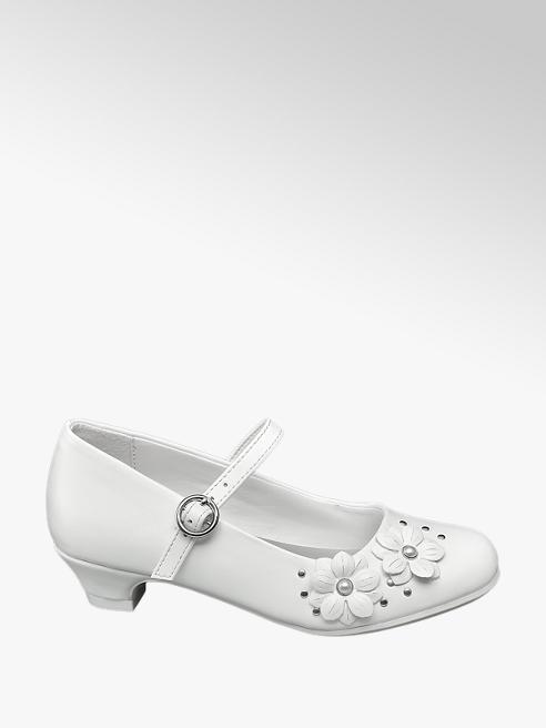 Cupcake Couture białe komunijne buty dziewczęce Cupcake Couture z paseczkiem