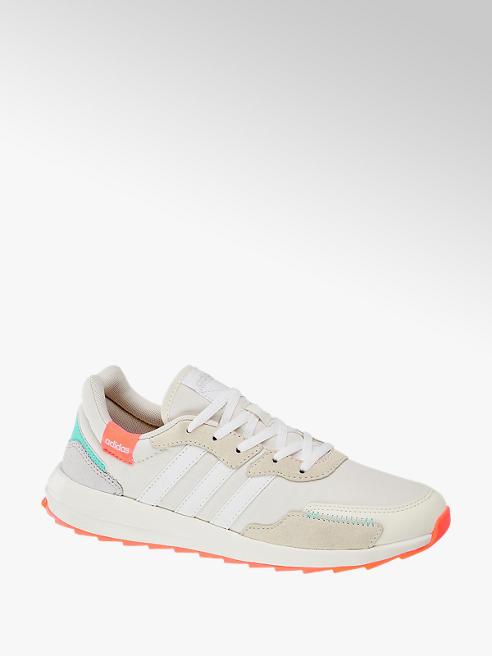 adidas biało-szare sneakersy damskie adidas Retrorun X