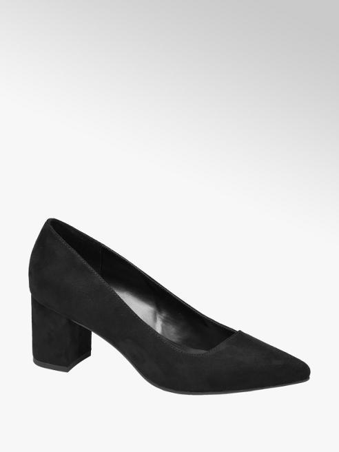 Graceland czarne czółenka damskie Graceland