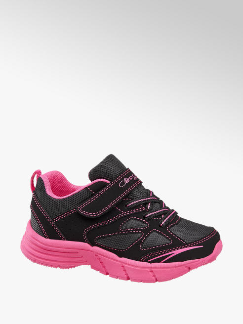 Cupcake Couture czarnor-różowe sneakersy dziewczęce Cupcake Couture