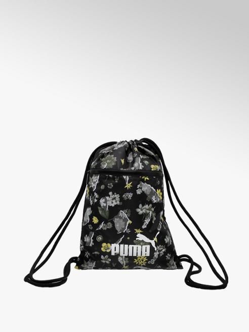 Puma czarny worek Puma we wzór w kwiaty