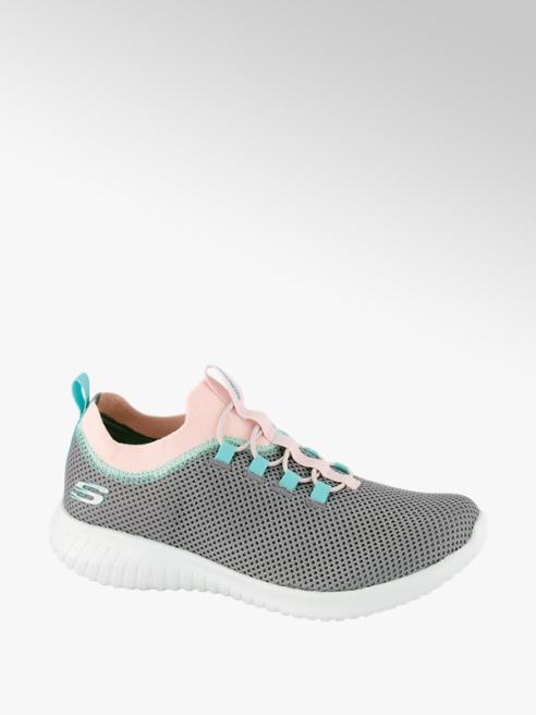 Skechers popielate sneakersy dziewczęce Skechers