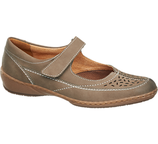 Vycházková obuv s páskem od Medicus