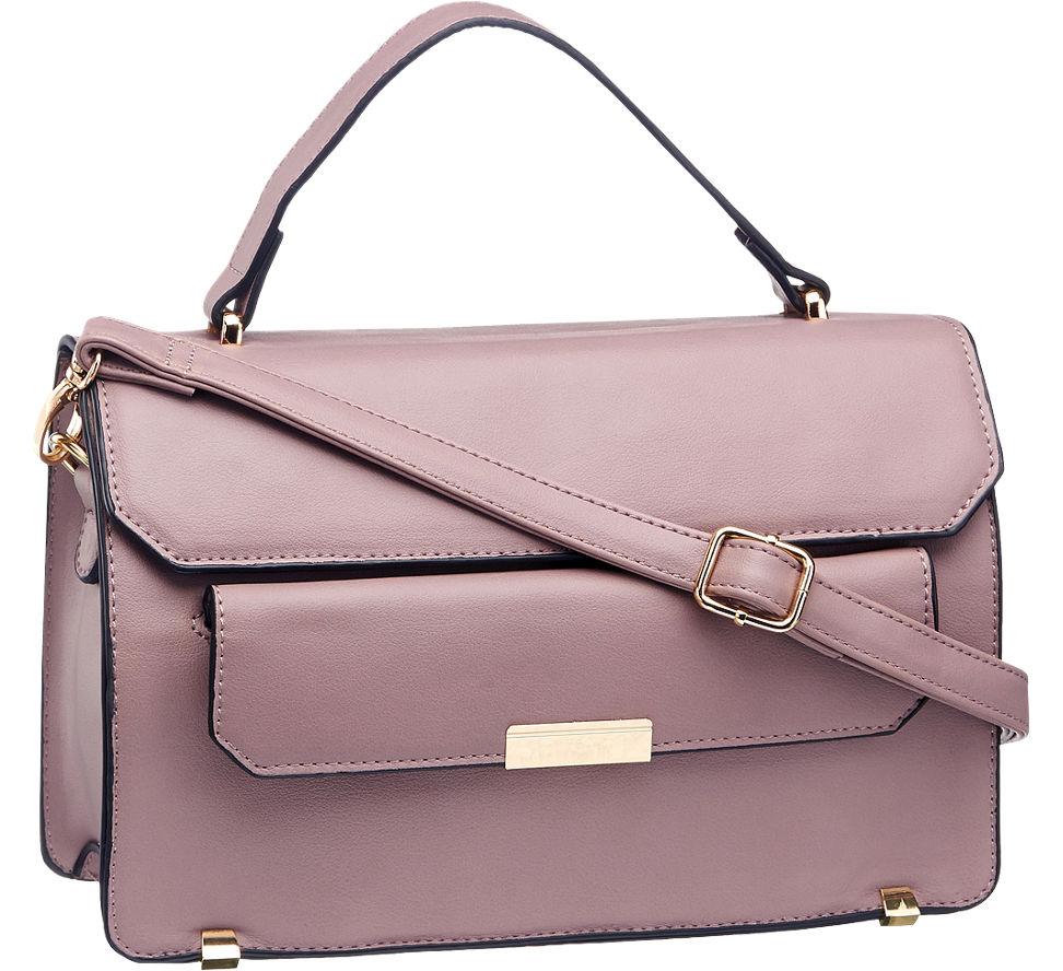deichmann graceland damen handtasche schwarz pink neu ebay. Black Bedroom Furniture Sets. Home Design Ideas