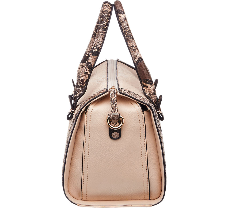 deichmann graceland damen handtasche schwarz beige neu ebay. Black Bedroom Furniture Sets. Home Design Ideas