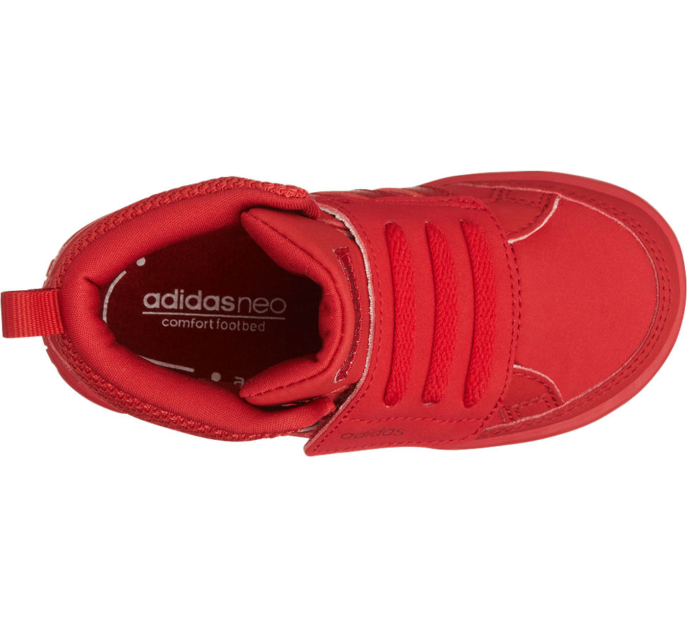 Adidas Neo Label Mid Cut Rot