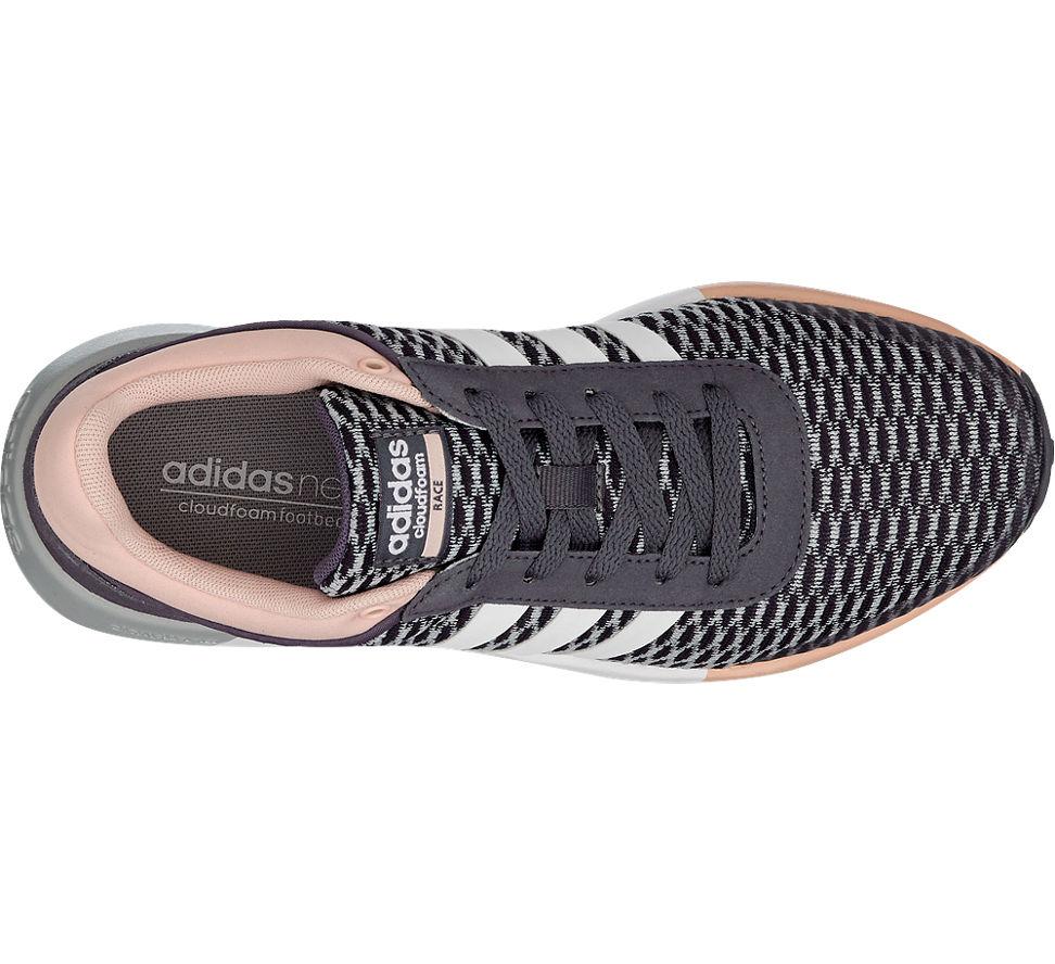 deichmann adidas neo label damen sneaker cf race w grau. Black Bedroom Furniture Sets. Home Design Ideas