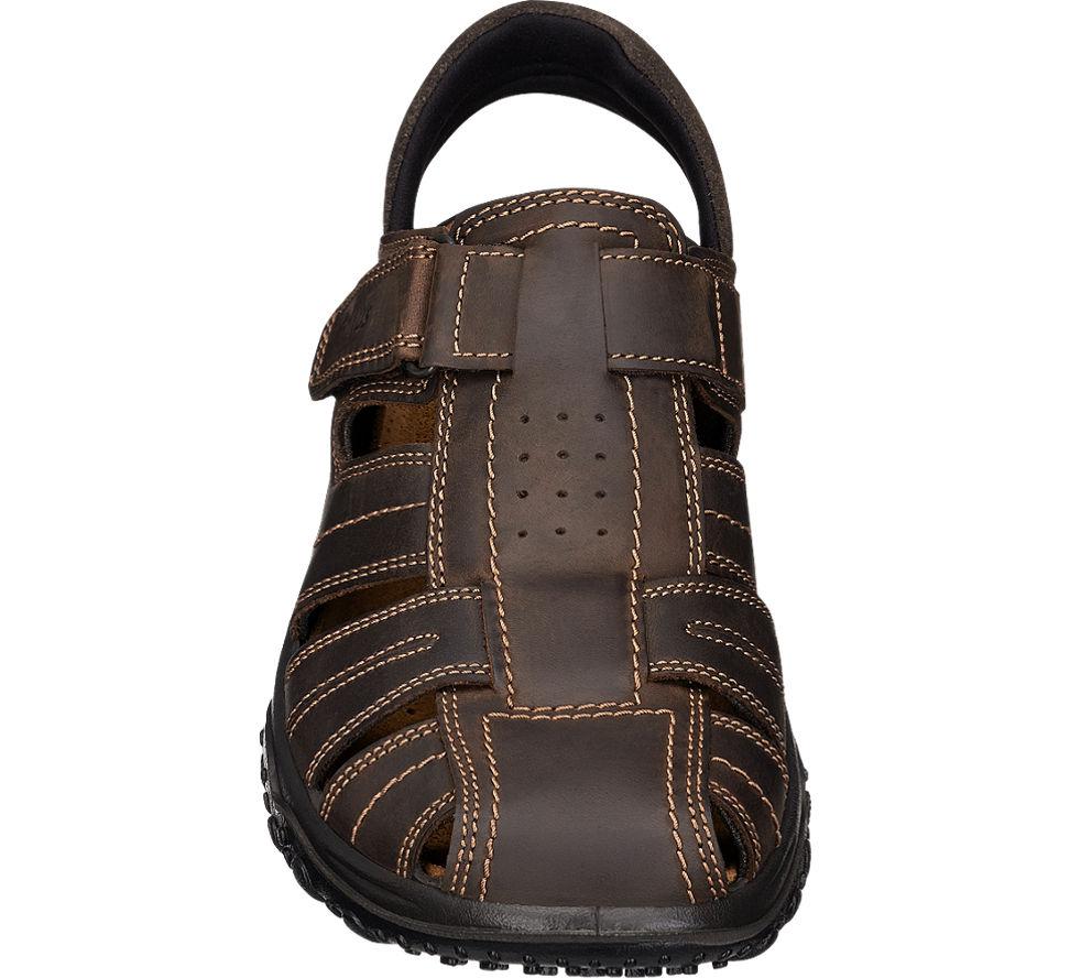 deichmann gallus herren trekking sandale weite g 1 2 normalweit braun neu ebay. Black Bedroom Furniture Sets. Home Design Ideas