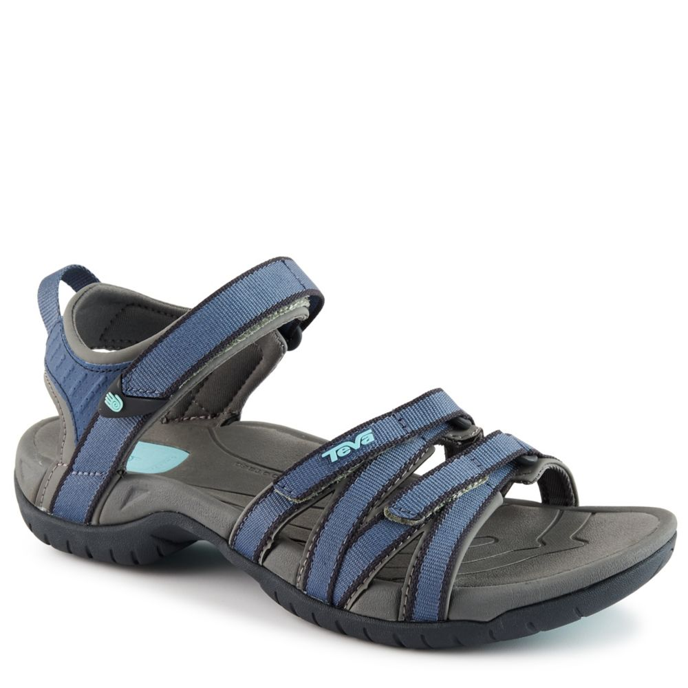 Teva Tirra Women S Slide Blue Rack Room Shoes