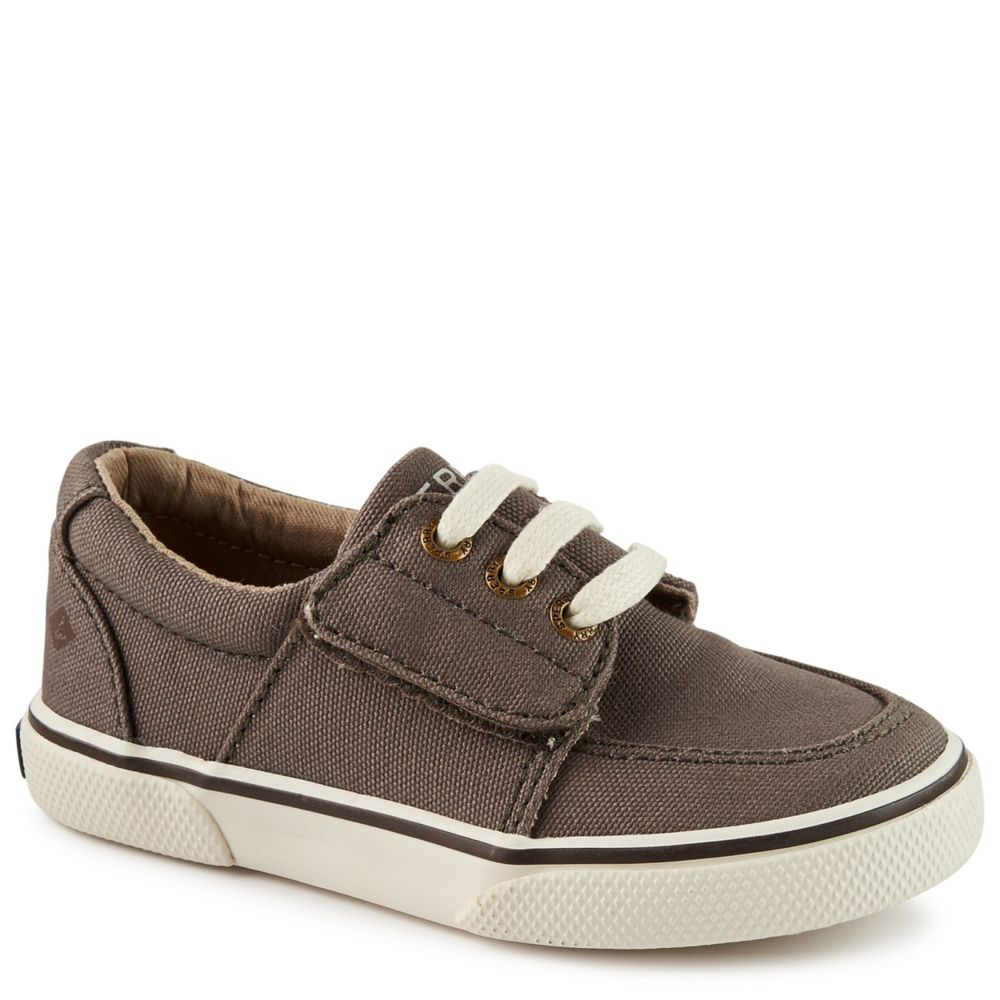 Sperry ollie jr kids 39 shoe dark grey rack room shoes for Rack room kids shoes