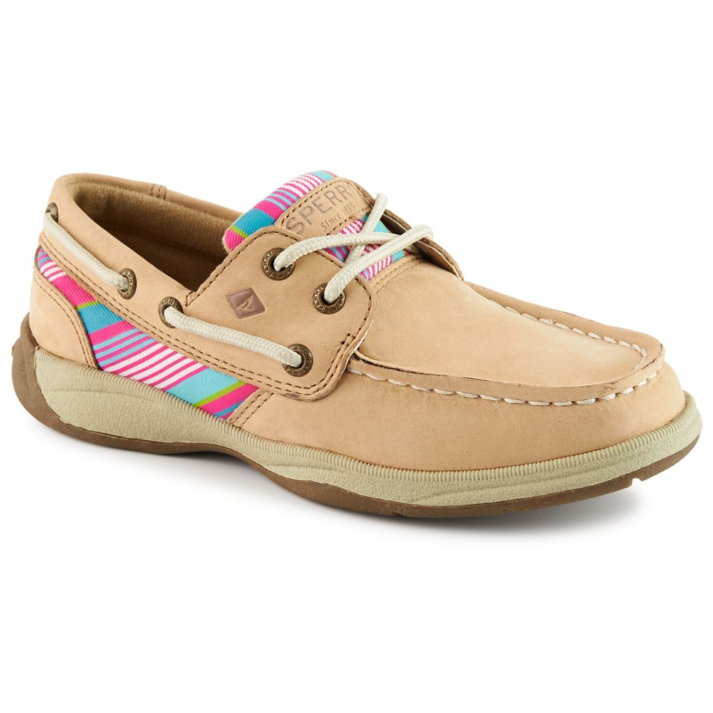 Sperry intrepid kids 39 shoe tan rack room shoes for Rack room kids shoes