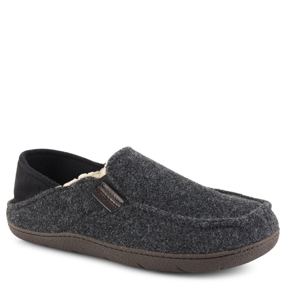Dearfoam Justin Women\'s Slipper (GREY) | Rack Room Shoes