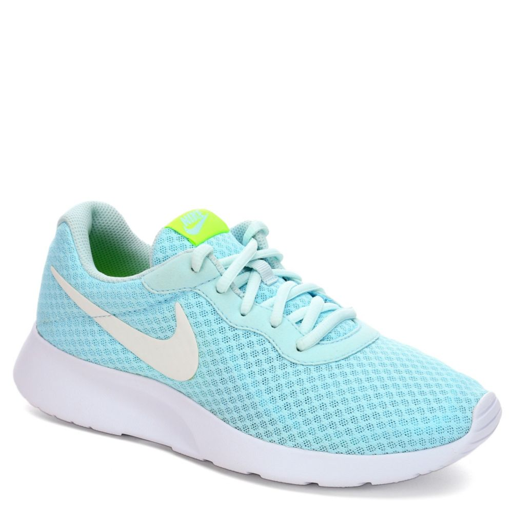 nike tanjun women 39 s running shoe pale blue rack room shoes. Black Bedroom Furniture Sets. Home Design Ideas