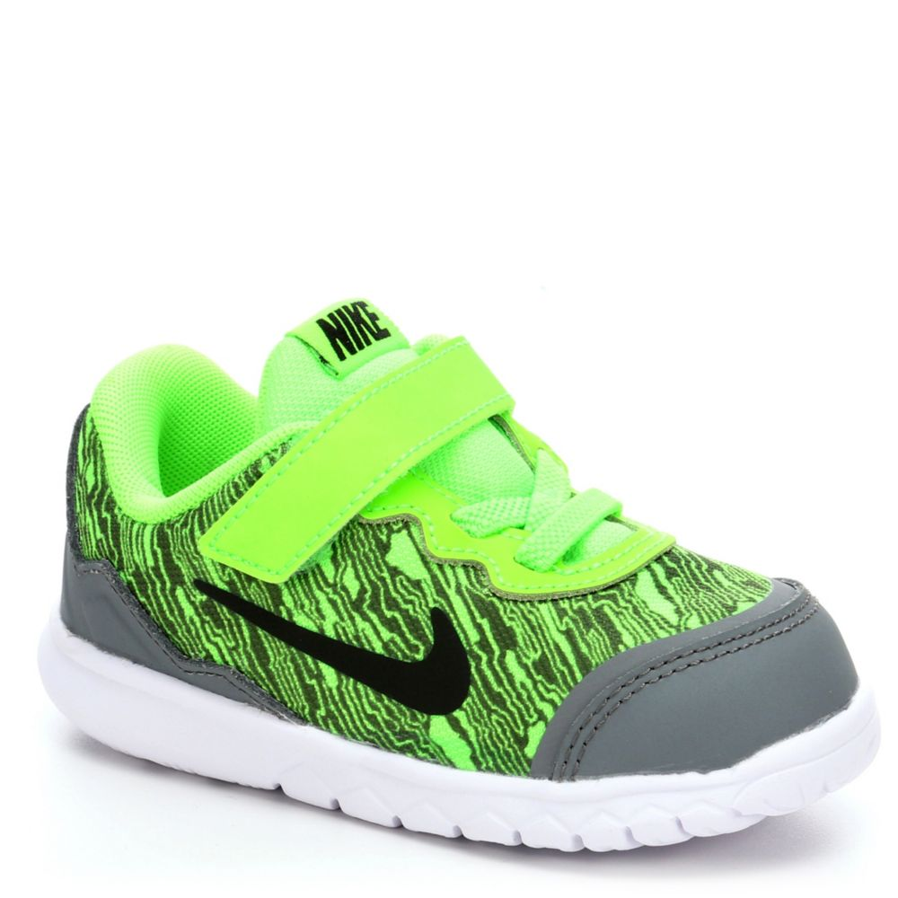 nike flex experience infant athletic shoe bright green. Black Bedroom Furniture Sets. Home Design Ideas