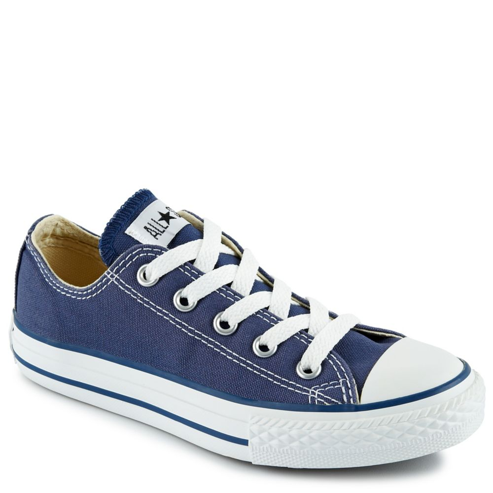 Converse chuck taylor all star kids shoe navy rack for Rack room kids shoes