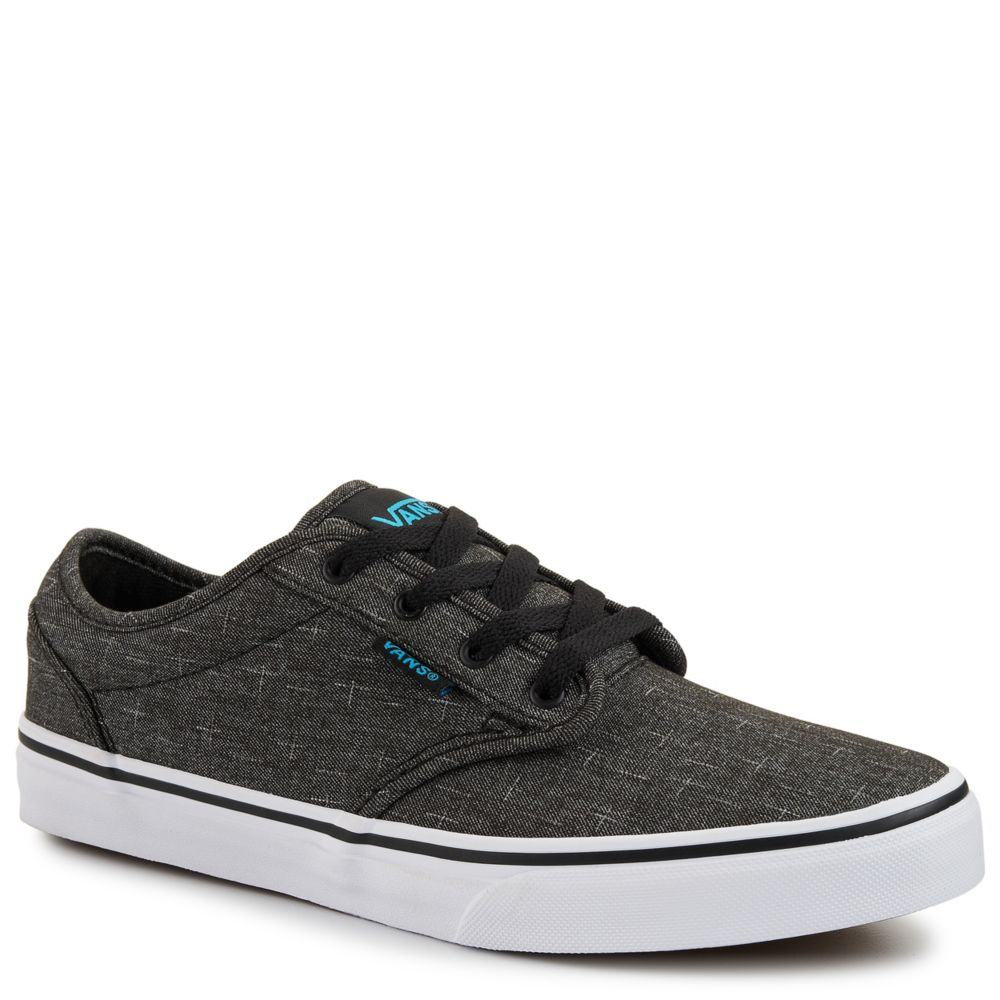 Vans atwood kids 39 shoe black rack room shoes for Rack room kids shoes