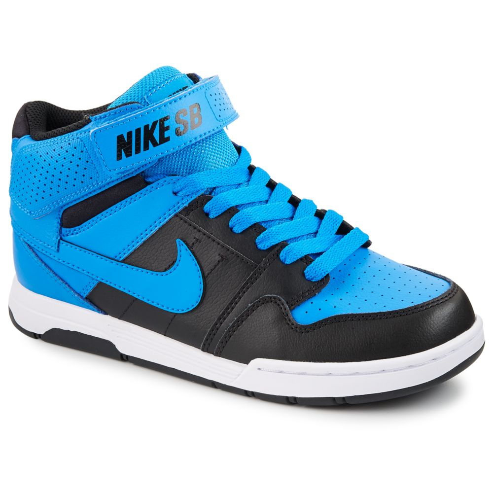 Nike mogan mid 2 kids 39 shoe blue rack room shoes for Rack room kids shoes