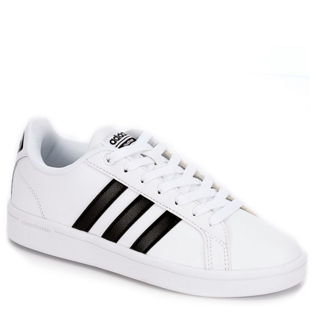 Adidas Cloudfoam Advantage  Stripe Mens Athletic Shoes