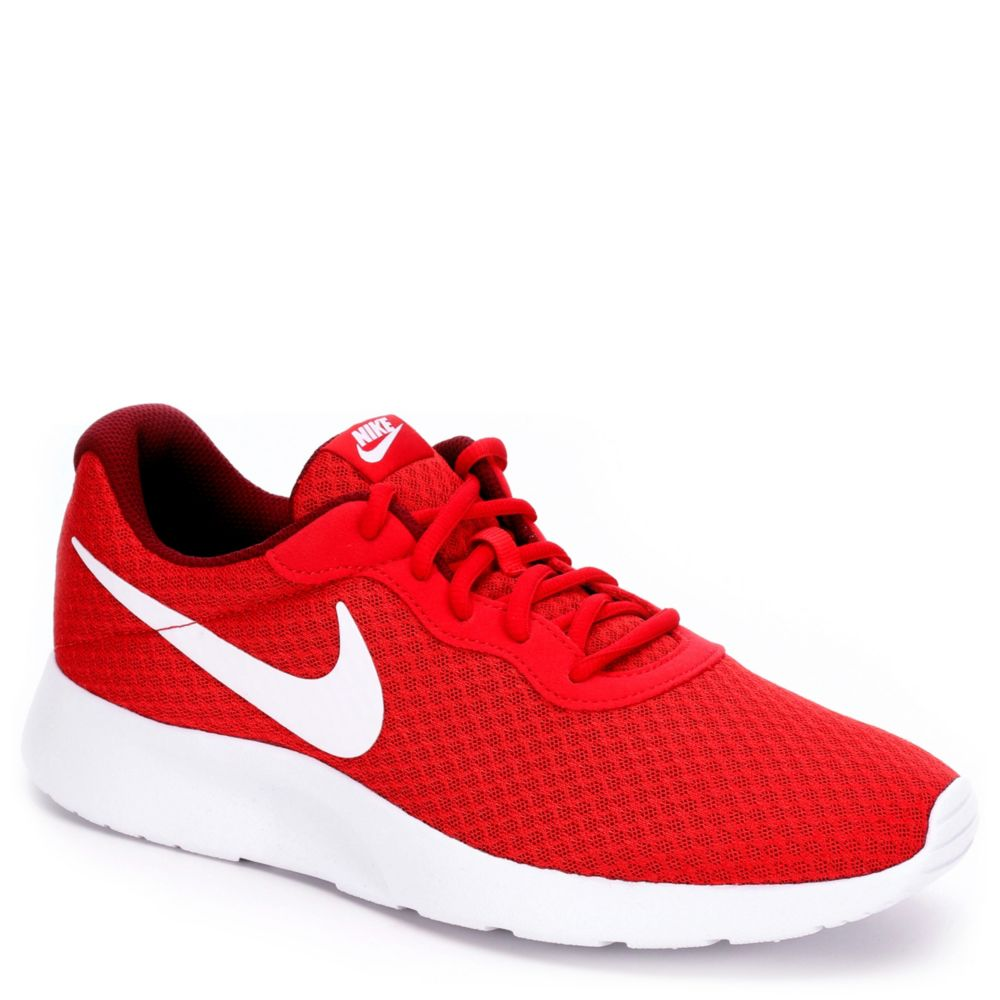 nike tanjun men 39 s running shoe red rack room shoes. Black Bedroom Furniture Sets. Home Design Ideas