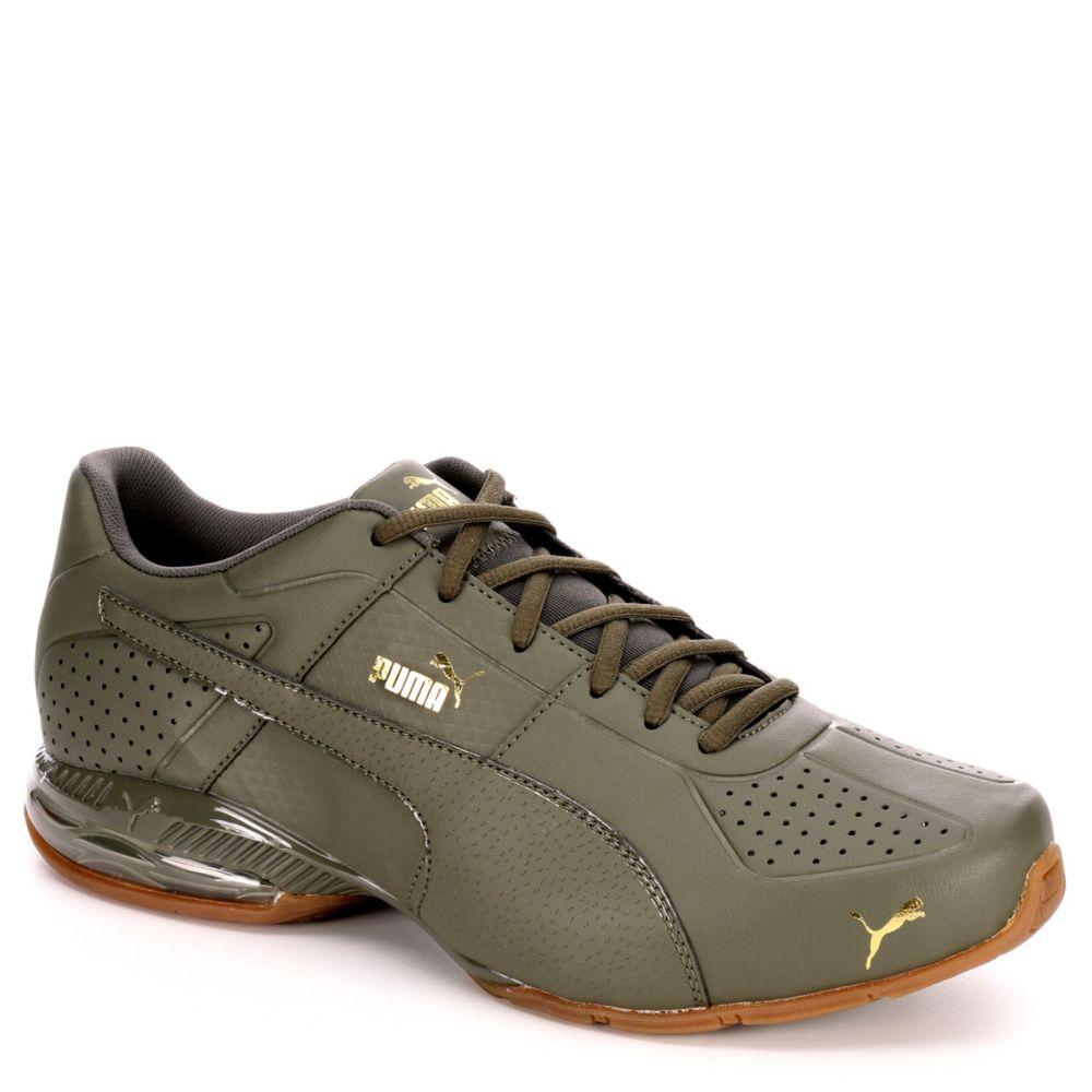 Puma Cell Surin 2 Men S Athletic Shoe Olive Rack Room